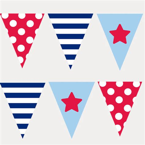 Banner Flag Hello Bunting Flag Motif Hello 1 bunting flags stencil set nautical theme paint borders