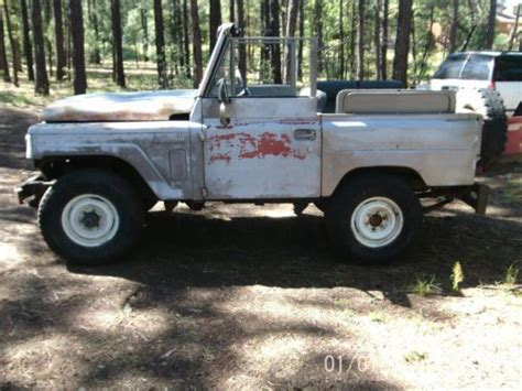 1965 nissan patrol purchase used nissan patrol 1965 with hardtop in pinetop
