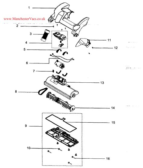 dyson dc28 parts diagram exploded diagrams drawings schematic for the dc27