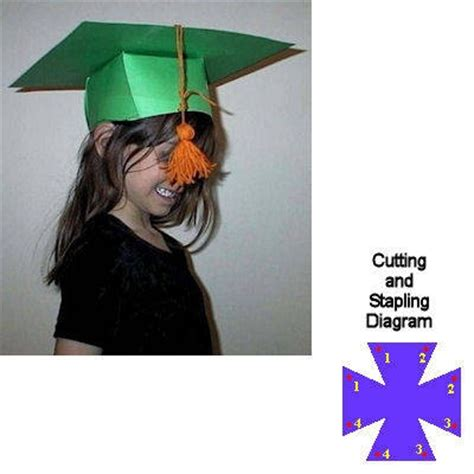 How To Make Paper Graduation Hats - 16 best images about graduation day on