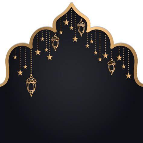 Islam Ramadan Kareem Golden Lantern , Ramadan Vector, Arch