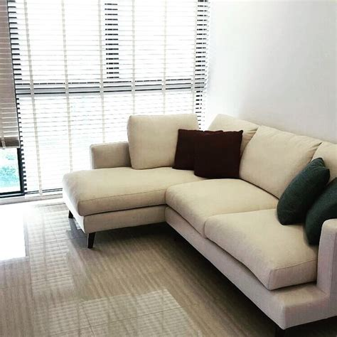 l shaped fabric sofa l shaped fabric sofa singapore house moving sale 3 seater