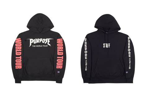 Jaket Hoodie Purpose Tour Justin Bieber 2 justin bieber purpose tour merch available hypebeast