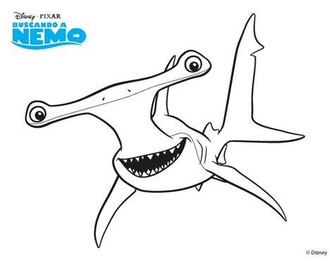 nemo shark coloring pages desenhos animados para colorir pesquisa google