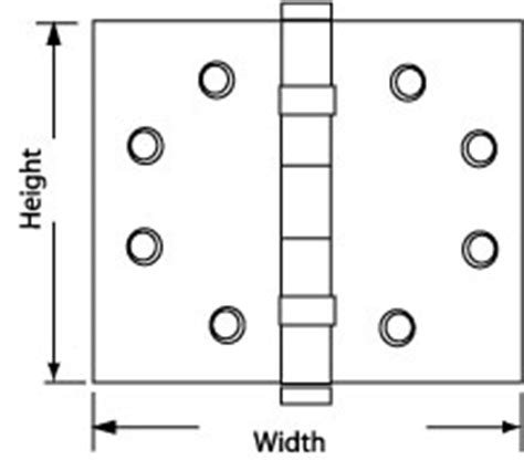 How To Determine Hinge Side Of Door by Hinge Basics Architectural And Residential Hinges 187 Door