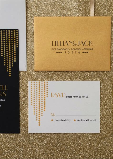 deco wedding invitation deco wedding inspiration percy handmade