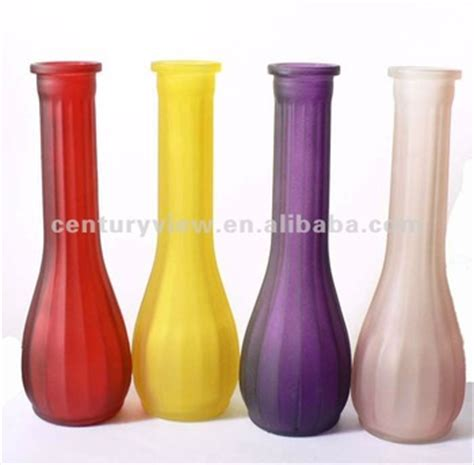 different types decorative glass vase for centerpiece