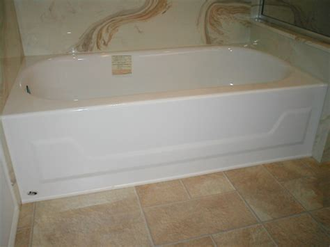 bathtub 54 x 30 enameled steel bath tub