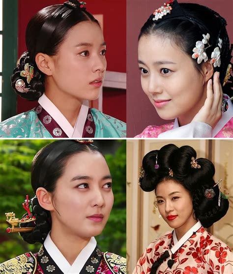 korean hairstyle for hanbok traditional hairstyles worn with hanbok the korean