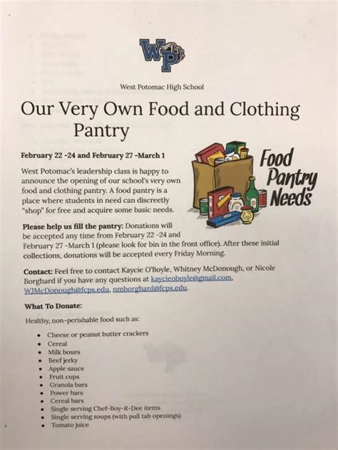 How Do I Start A Food Pantry For The Community by The Wire Juniors Start Food Pantry Program To Help