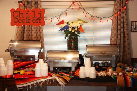 Chili Cook Off Decorations Pin By Michelle Page On Chili Cook Off Party Pinterest