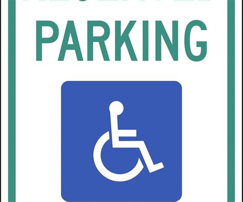 disabled parking template template disabled parking template lovely printable