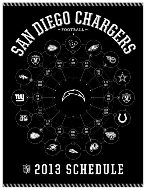 2013 san diego chargers schedule the 25 best chargers schedule ideas on nail