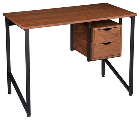 industrial desk with hutch chester writing desk industrial desks and hutches by sei