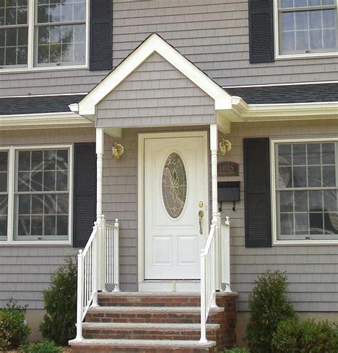 exterior door overhang designs gable front door overhang plans porch overhang designs