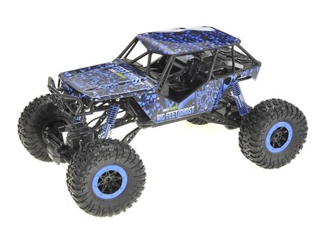 Rc Rock Crawler 4wd 2 4 Ghz Blue Black 1 10 suv rock crawler rc truck electric 4wd 2 4 blue zandatoys