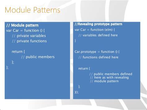 revealing module pattern node js revealing module pattern javascript phpsourcecode net