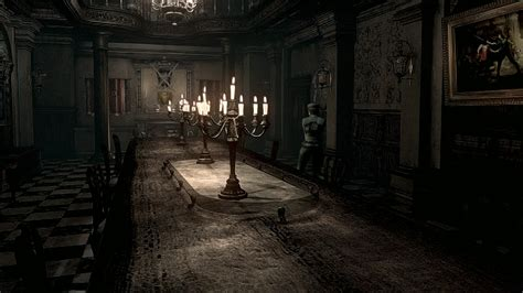the room remake the desolate mansion of resident evil kill screen
