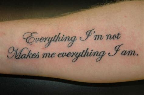 arm tattoo writing designs script tattoos writing chameleon custom