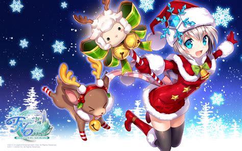 anime christmas wallpaper hd  wallpapersafari