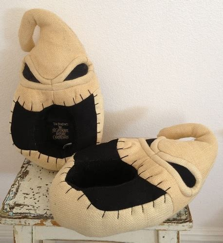 nightmare before zero slippers gothauctions free auctions oogie boogie