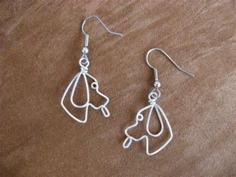 dogs with earrings earrings wirework nickle free
