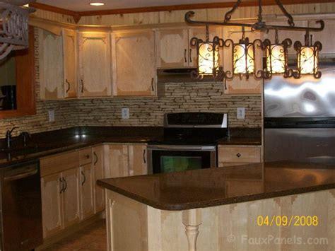 faux stone kitchen backsplash faux stone kitchen back splash i also want the outer side