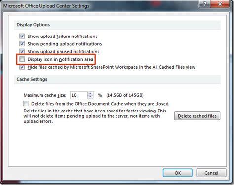 Office Upload Center Disable Remove Office Upload Center From Taskbar System Tray