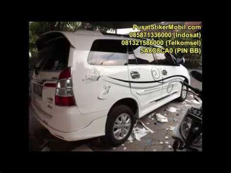 Stiker Mobil Bunga Tribal 0858 7133 6000 indosat stiker mobil floral cutting
