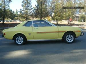 Mustang Black And Yellow 1973 Toyota Celica