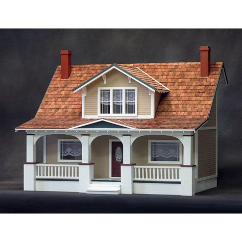 realistic doll houses classic bungalow real good toys diy dollhouse kit free shipping discount doll house