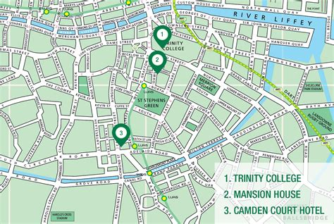 map city centre venue cigr 201 dublin 2017