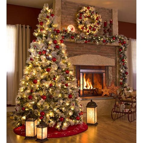 25 unique pre decorated christmas trees ideas on