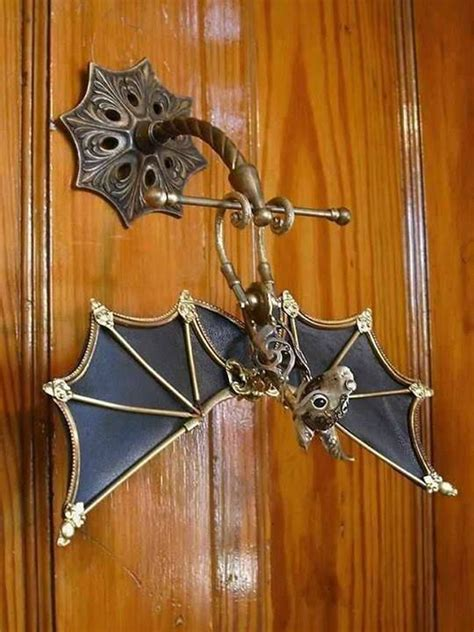 bat door knocker 32 unique door knockers that will beautify your front door
