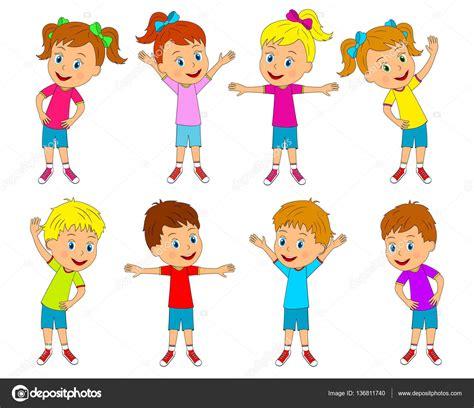 imagenes niños haciendo ejercicio ni 241 os y ni 241 as est 225 n haciendo ejercicios de colecci 243 n