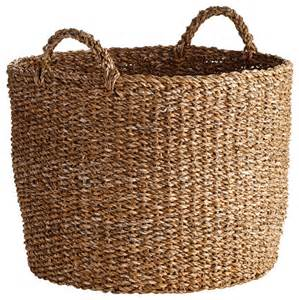 Large Wicker Floor Vases Oversized Seagrass Basket New Beach Style Baskets