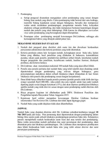 format buku ajar dikti pedoman hibah buku ajar 2015