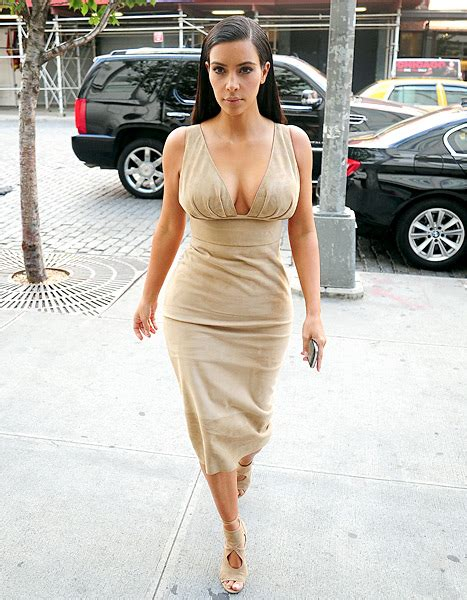 nudo hair west street just like us kim k flashes shapewear while exiting car