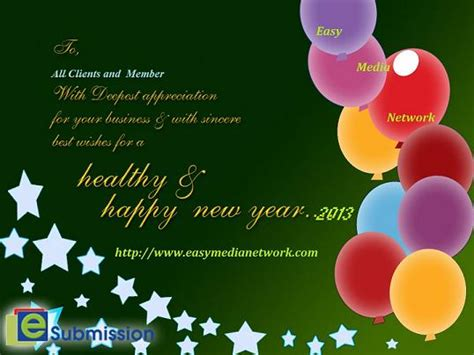 new year message to clients press release easy media network
