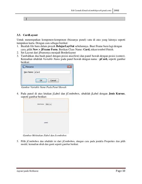 layout jbutton java membuat layout java dengan netbeans