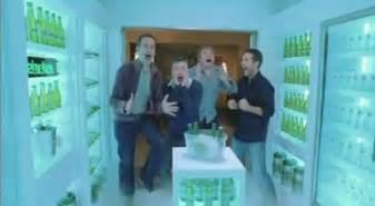 heineken walk in fridge the inspiration room