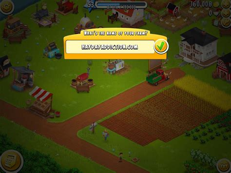 ranch names hay day addiction how to change your roadside shop names