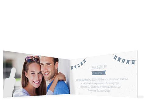 Hochzeitseinladung Wimpelkette by Hochzeitseinladung Wimpelkette Familiensache