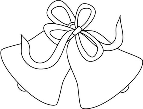 Wedding Bell Template by Free Coloring Pages Of Wedding Bells