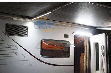 rv awning lights exterior 12volt 21 65 quot led awning light rv coach caravan exterior