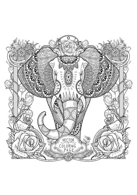 1000 images about zentangle animals dibujos 1000 id 233 es sur le th 232 me coloriage elephant sur pinterest