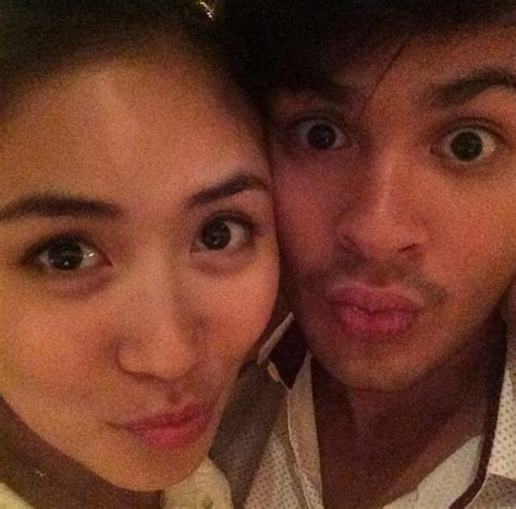 sarah g and matteo guidicelli sarah geronimo matteo guidicelli new year selfie went
