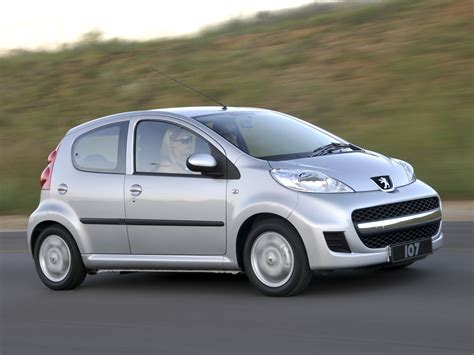 peugeot car one peugeot 107 5 doors specs 2008 2009 2010 2011 2012