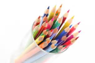draw and color crayons de couleurs fournitures scolaires