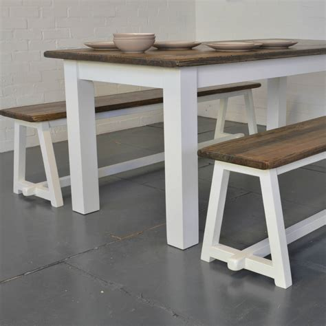 plank dining table driftwood plank dining table by ollu notonthehighstreet com